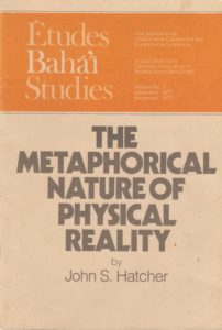 The Metaphysical Nature of Physical Reality